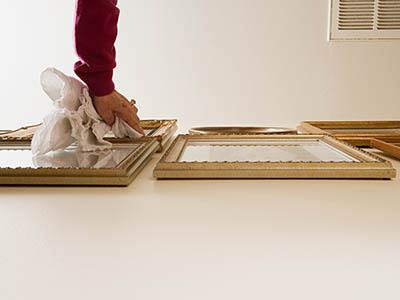 printing, framing, digital conversion, restoration, mounting, laminating;