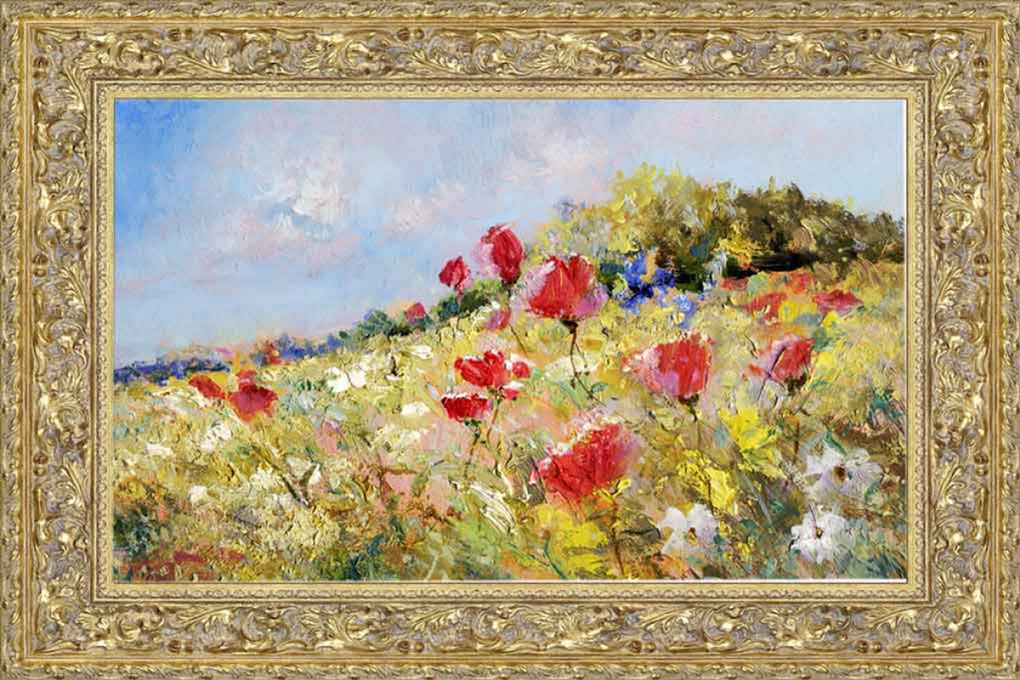 vip-picture-framing-flower-painting